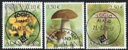 2003 Aland  M 214 - 16 Mushrooms Complete Fine Used Set. - Aland