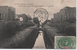 KAYES  TRANCHE POUR EVACUER L'EAU APRES L'INONDATION DU 22 AOUT 1906 - Sudan