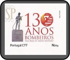 Portugal 2020 130 Anos Bombeiros Voluntários De Vila Real De Santo António Algarve Pompiers Fireman Firefight - Feuerwehr