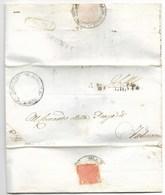 REPUBBLICA ROMANA - DA ASCOLI A FABRIANO - 3.2.1849. - Italia