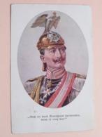 WILLEM II ( M. Munk, Wien - Nr. 966 ) Anno 1915 Vienne ! - Historische Persönlichkeiten