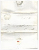 REPUBBLICA ROMANA - DA MONTEFANO A RECANATI - 17.3.1849. - ...-1850 Voorfilatelie