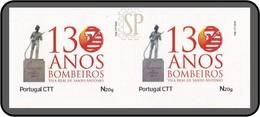 Portugal 2020 130 Anos Bombeiros Voluntários De Vila Real De Santo António Algarve Pompiers Fireman Firefight - Bombero