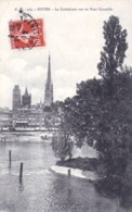 76 - Seine Maritime -  ROUEN -  La Cathedrale Vue Du Pont Corneille - Rouen