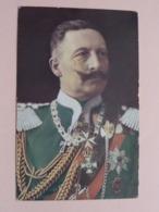 Kaiser WILHELM II ( Serie 1 - N° 3 ) Anno 1908 Strasbourg ! - Historische Persönlichkeiten