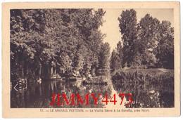 CPA - Près De NIORT- La Vieille Sèvre à LA GARETTE - LE MARAIS POITEVIN 79 Deux Sèvres - N°17 - Coll. Max Ménard - Niort