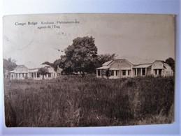 CONGO BELGE - KINSHASA - Habitations Des Agents De L'Etat - 1927 - Belgisch-Congo - Varia