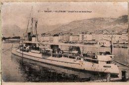 X83176 Cpbat TOULON Var CLAYMORE Marine Militaire Française Torpilleur Au Mouillage 1906 à Emile ROBERT Aix-en-Provence - Toulon