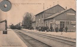 51 - Carte Postale Ancienne De  Au Camp De Chalons   La Gare - Camp De Châlons - Mourmelon