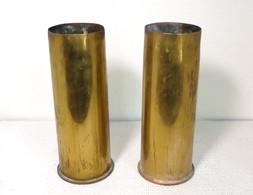 Souvenirs Des Tranchées Lots De 2 Obus - 1914-18