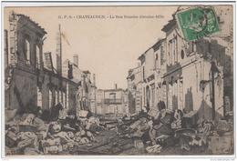 CHATEAUDUN LA RUE DUNOISE OCTOBRE 1870 TBE - Chateaudun