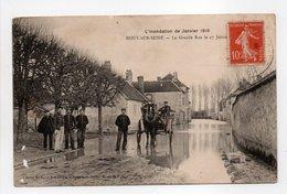 - CPA MOUY-SUR-SEINE (77) - La Grande Rue Le 27 Janvier 1910 (belle Animation) - Cliché SIMONET - - Frankrijk