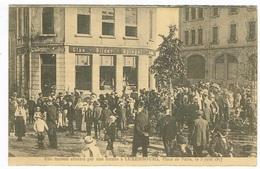 Place De Paris 5 De Juin 1917.Maison Atteint Par Une  BOMBE à Luxembourg. Th Wirol - Luxembourg - Ville