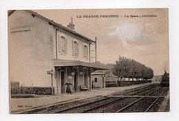 - CPA LA GRANDE-PAROISSE (77) - La Gare - Intérieur - Edition Vivien - - Francia