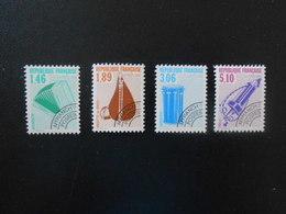 FRANCE  YT PR206/209 INSTRUMENTS DE MUSIQUE (II)** Dentelés 13 - 1989-....