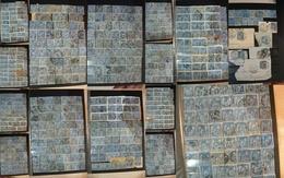 France - Lot 15 Cts Bleu Type SAGE (n° 90 Et 101 Dont Paires) - Oblitérations Et Timbres à étudier - Départ 1 Euro - Sammlungen (ohne Album)