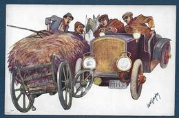5 Cartes AUTOMOBILES - ( B.K.W.I.  324 -1 - 2 - 3 - 5 - 6 ) - Illustrateurs & Photographes