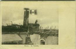 SYRIA - HOMS - VEDETTA /  WATCHTOWER - ITALIAN FLAG - POSTMARK 379 REGGIMENTO FANTERIA UFFICIO COMANDO - 1910s  (7252) - Syrië
