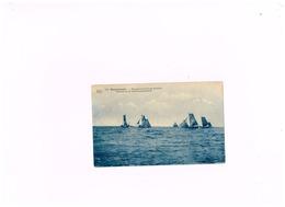 Barques Sur Les Lieux De Pêche.Expédié à Alleur. - Blankenberge