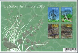 France - Salon Du Timbre 2010 - YT BF 130 Obl. Cachet Rond Manuel - Afgestempeld