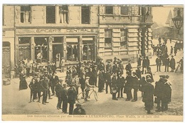 Maison Atteintes Par Des Bombes (PLACE WALLIS) 18Juin 1916 Luxembourg Th,Wirol.Epicerie Central - Luxembourg - Ville