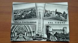 Saluti Da Castelnuovo Val Tidone - Vedutine - Piacenza