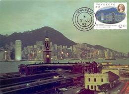 CINA HONG KONG SERIES 8 1993 POST CARD  (GENN200707) - 1949 - ... République Populaire
