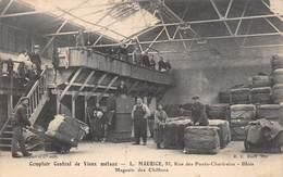 20-1058 : BLOIS. COMPTOIR CENTRAL DE VIEUX METAUX. L. MAURICE. RUE DE PONTS CHATRAINS. CHIFFONNIER. RECUPERATEUR. - Blois