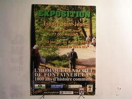 Melun - Exposition - L'Homme Et La Forêt De Fontainebleau..... - Melun