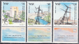 ISRAEL    SCOTT NO  1084-86     MNH    YEAR  1991   WITH TABS - Israel