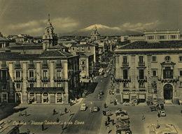 Catania Piazza Universita E Via Etnea - Catania
