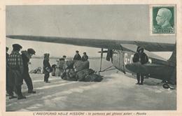 Cartolina - Postcard / Non Viaggiata - Unsent /  L'Aeroplano Nelle Missioni. - Flugzeuge