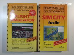 """FLIGHT SIMULATOR"" + ""SIM CITY FACILE"" - Informatica"