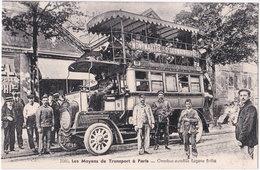 75. Les Moyens De Transport à PARIS. Omnibus Autobus Eugène Brillié. 2080 (2) - Nahverkehr, Oberirdisch