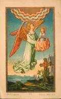 IMAGE RELIGIEUSE ANCIENNE - Ste St-Augustin - La Mort Chrétienne- TBE - Images Religieuses