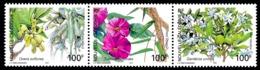 NOUV.-CALEDONIE 2004 - Yv. 919 920 Et 921 ** Faciale= 2,51 EUR - Flore De Forêt Sèche (3 Val. Se Tenant)  ..Réf.NCE25562 - New Caledonia