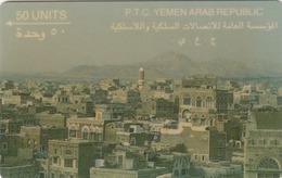 YEMEN - View Of San'A , CN:1YEMA,  50 U, Used - Jemen
