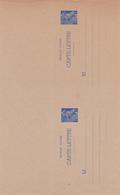 Carte Lettre Mercure 1 Fr Outremer B2a Neuve - Letter Cards