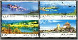 China 2010 Shangri-La, Yunnan Province. Mi 4182-4185 MNH(**) - 1949 - ... République Populaire