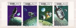 Ras Al Khaima, Space, Apollo X, Michel No.: 326, 328, 330, 332 - Ruimtevaart