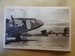 AEROPORT / AIRPORT / FLUGHAFEN     LE BOURGET  AIR FRANCE  POTEZ 62 - Aerodromi