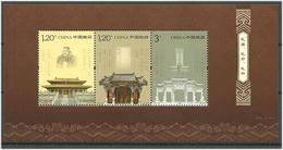 China 2010 Confucius (around 551-479 BC), Philosopher; Confucius Temple, Beijing, Mi Bloc 167 MNH(**) - 1949 - ... République Populaire