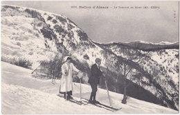 68. BALLON D'ALSACE. Le Sommet En Hiver. 8031 - Francia