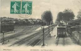 MORET SUR LOING - Les Sablons, Les Villas Et La Gare. - Moret Sur Loing