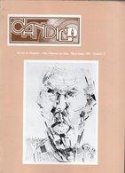 Revue Musique - Candil Revista De Flamenco N° 27 - 1983 - Música