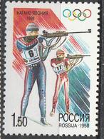 PIA - RUSSIA  - 1998 - Giochi Olimpici Invernali A Nagano - (Yv 6331) - 1992-.... Federazione
