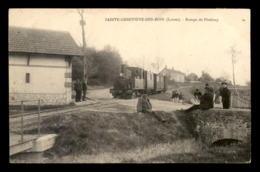 45 - STE-GENEVIEVE-DES-BOIS - RAMPE DE PETELOUP - TRAIN TRAMWAY LIGNE DE CHATILLON-NOGENT - Frankreich