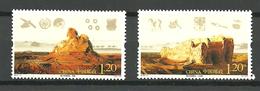 China 2010 Ruinen Und Fundstücke Aus Loulan An Der Südlichen Seidenstraße, Um 330 Wegen W Mi 4170-4171  In Pair MNH(**) - 1949 - ... République Populaire