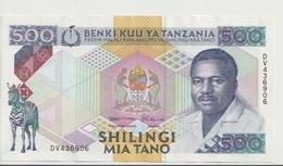 TANZANIA P. 21c 500 S 1989 UNC - Tanzanie