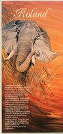 ROLAND - Illustration De Catherine Schmid - Eléphant  (2205 ASO) - Firstnames